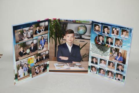 Детский выпускной фотоальбом Минск